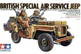 TAM35033 - Tamiya 1/35 BRITISH SPECIAL AIR SERVICE JEEP