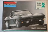 MON2724 - Monogram 1/24 65 Vette Black Rat