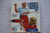 TAM20027 - Tamiya 1/20 F1 Driver and Technical Engineer Set