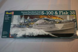 RAG05002 - Revell 1/72 S-100 & Flak38 Fast Attack Craft