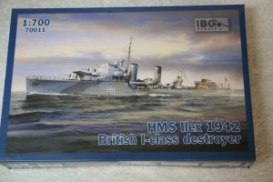 IBG70011 - IBG 1/700 HMS Ilex; 1942 British I-class destroyer