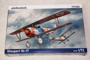 EDU7404 - Eduard Models 1/72 Nieuport Ni-17 Weekend edition