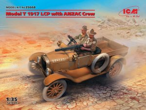 ICM35668 - ICM 1/35 Model T 1917 LCP with ANZAC Crew