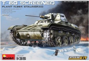 MIA35237 - Miniart 1/35 T-60 Screened (Plant No.264 Stalingrad) - Interior Kit