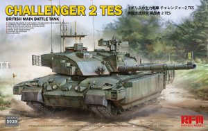RYERM-5039 - Rye Field Model 1/35 Challenger 2 TES - British Main Battle Tank