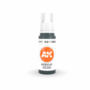 AKI11172 - AK Interactive Archaic (Old) Turquoise - 17mL Bottle - Acrylic / Water Based
