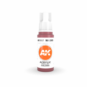 AKI11067 - AK Interactive Magenta - 17mL Bottle - Acrylic / Water Based