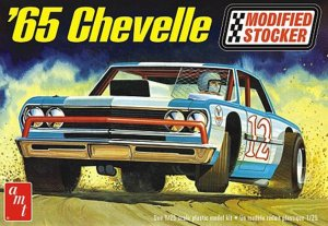 AMT1177 - AMT 1/25 1965 CHEVELLE STOCKER
