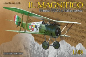 "EDU11139 - Eduard Models 1/48 ""IL MAGNIFICO"" HANRIOT HD.I [LTD.ED"