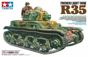 TAM35373 - Tamiya 1/35 R35 FRENCH LIGHT TANK