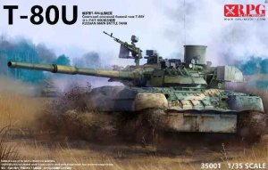 RPG35001 - RPG 1/35 T-80U Russian MBT