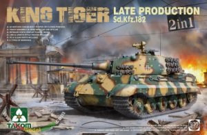 TKM2130 - Takom 1/35 KING TIGER LATE PROD. SD.KFZ.182