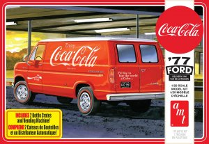 AMT1173 - AMT 1/25 1977 FORD DELIVERY VAN W COKE CRATES