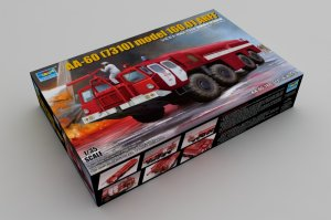 TRP01074 - Trumpeter 1/35 AA-60 AIRPORT FIRE TRUCK
