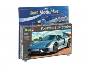 REV67026 - Revell 1/24 Porsche 918 Spyder - Model Set Series