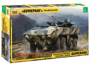 ZVE3696 - Zvezda 1/35 Bumerang Russian 8x8 Armored Personnel Carrier