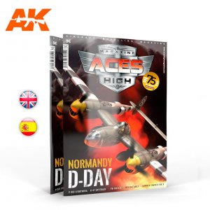 AKIAK2933 - AK Interactive Aces High #16 Normandy D-Day
