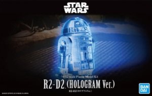 BAN5058898 - Bandai 1/12 Star Wars: R2-D2 Hologram Version