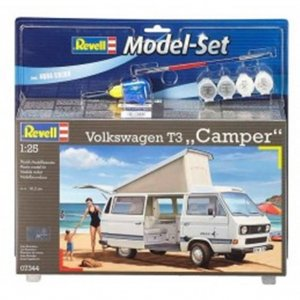 "REV67344 - Revell 1/25 Volkswagen T3 ""Camper"" - Model Set Series"