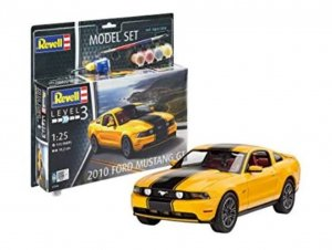 REV67046 - Revell 1/25 2010 Ford Mustang GT - Model Set Series