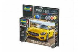 REV67028 - Revell 1/24 Mercedes AMG GT - Model Set Series