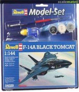 REV64029 - Revell 1/144 F-14A Black Tomcat [ Model-Set ]