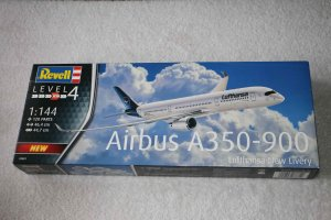 REV03881 - Revell 1/144 Airbus A350-900 Lufthansa New Livery