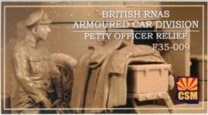 "CSMF35009 - Copper State Models 1/35 Armoured Car Petty Officer ""Relief"""