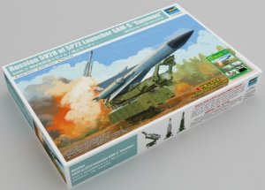 "TRP09550 - Trumpeter 1/35 Russian 5V28 of 5P72 Launcher SAM-5 ""GAMMON"""