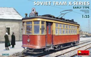 MIA38020 - Miniart 1/35 Soviet Tram X-Series - Early Type