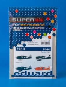 EDU4463 - Eduard Models 1/144 F6F-5 SUPER44 EDITION