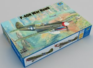 TRP02212 - Trumpeter 1/32 P-40N WAR HAWK