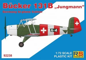 RSM92238 - RS Models 1/72 BUCKER 131B JUNGMANN TRAINER