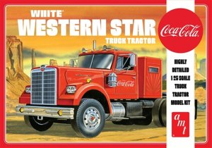 AMT1160 - AMT 1/25 WHITE WESTERN STAR SEMI TRACTOR
