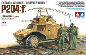 TAM32413 - Tamiya 1/35 P204(F) RAILWAY VEHICLE (ICM)