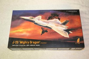 DRE720010 - Dream Model 1/72 J-20 'Mighty Dragon' in service