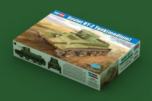 HBB84515 - Hobbyboss 1/35 Soviet BT-2 Tank (Medium)