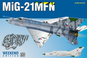 EDU7452 - Eduard Models 1/72 MIG-21MFN [WEEKEND ED]