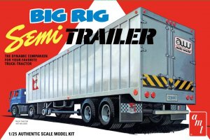 AMT1164 - AMT 1/25 BIG RIG SEMI TRAILER