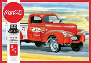 AMT1145 - AMT 1/25 1940 WILLYS PICKUP GASSER COCA COLA
