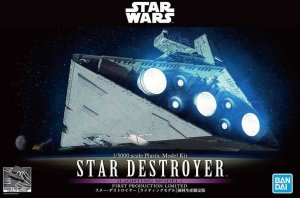 BAN5057625 - Bandai 1/5000 Star Wars: Star Destroyer (Lighting Model) First Production Limited