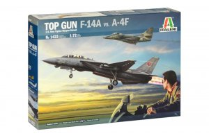 ITA1422 - Italeri 1/72 TOP GUN F-14A vs A-4F