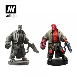 VLJ70187 - Vallejo Type - Licensed Sets: Hellboy - 9 Pieces - Acrylic / Water Based