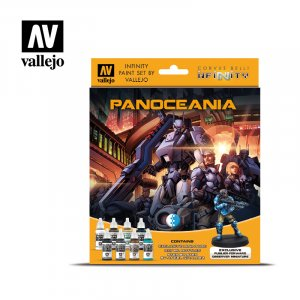 VLJ70231 - Vallejo Type - Licensed Sets: Panoceania (9 pieces) - Acrylic / Water Based