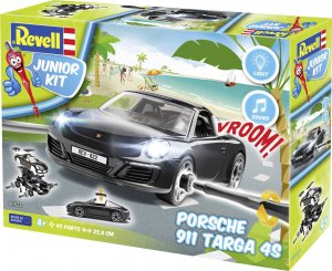 REV00822 - Revell 1/20 Prosche 911 Targa 4S (Junior Kit)