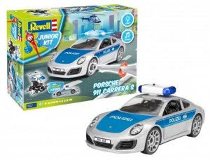 REV00818 - Revell 1/20 Porsche 911 Carrera S - Police Car (Junior Kit)