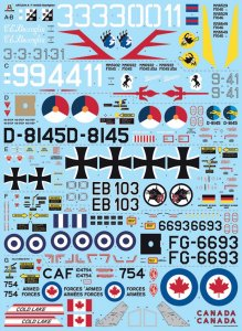 ITA2514 - Italeri 1/32 Lockheed-Martin F-104 Starfighter G/S [Upgraded Edition RF Version] (Decals for 8 Versions)