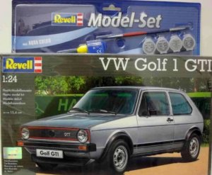 REV67072 - Revell 1/24 VW Golf 1 GTI - Model Set Series