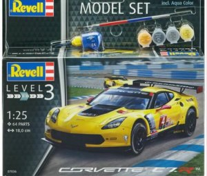 REV67036 - Revell 1/25 Corvette C7.R - Model Set Series