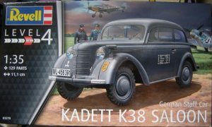 REV03270 - Revell 1/35 German Staff Car Kadett K38 Saloon